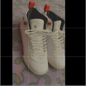 Jordan jumpman (red/white)